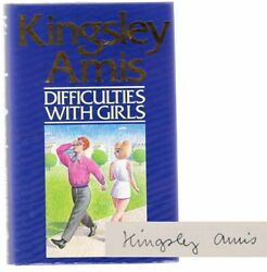 Kingsley Amis / Difficulties With Girls Signed First Edition 1988 103230