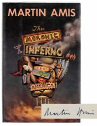 Martin Amis / Moronic Inferno And Other Visits To America Signed First 103238
