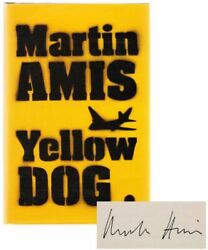 Martin Amis / Yellow Dog Signed First Edition 2003 103264
