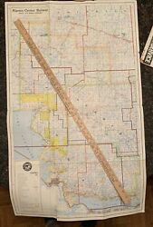Algoma Central Railway Ontario Original 1969 Map Ministry Of Natural Resources