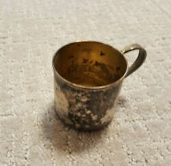 Wm Rogers And Son Small Silver Childand039s Cup Babyand039s First Cup