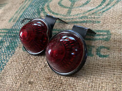 Vintage Tail Lights Car Truck Hot Rod Motorcycle Old