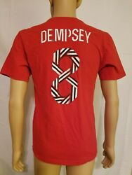 Clint Dempsey Team Usa Jersey Shirt Nike Soccer Us Small Red 8 World Cup