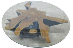 Star Nature Wood Color Organic Teak Root Coffee Table Or Accent Table 59