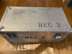 Extremely Rare Vintage 1970's - 80's Frank Zappa Mothers Of Invention Road Case