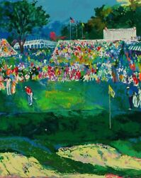 Leroy Neiman Bethpage Black Course 2002 Close Out On Mint S/n Serigraphs 24/7