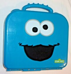 Sesame Street Cookie Monster Alphabet Play And Learn Travel Case Complete