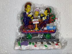 The Simpsons Christmas Express Train Collection Holiday Payola Fat Tony 0359