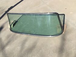 1961 - 1966 Ford Custom Cab Pickup Truck Windshield And Stainless Trim Original