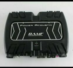 Power Acoustik Bamf4-1200 1200 Watts Max 2-ohm Stable 4-channel Bridgeable Ca...