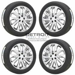19 Buick Envision Pvd Bright Chrome Wheels Rims And Tires Oem Set 4 2016-201...