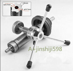 1pc 16mm Bench Drill Spring Spindle Sleeve Drive Shaft Gear Shaft Pulley Bearing