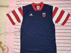 Vintage 1997 98 Dc United Mls Adidas Soccer Jersey Cat In The Hat Perfect Cond