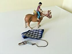 Rare Schleich 42093 And039 Pony Riding Camping Set Free Uk Postage