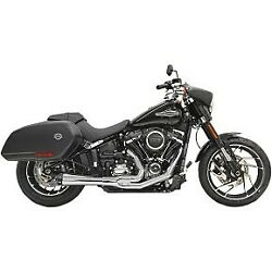 Bassani Chrome 15.5 Short Road Rage 21 Exhaust System For 18-20 Sport Glide