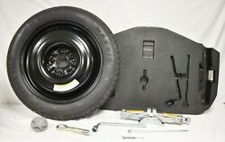 10-13 G37 Sedan T145/80d17 Compact Spare Tire With Jack And Tool Set W/ Foam F5504