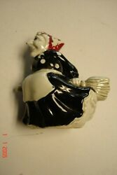 Vintage Fitz And Floyd Halloween Witch Pepper Shaker 3.5