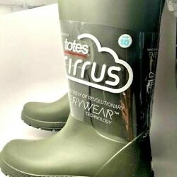 Totes Women's Cirrus Tall Rainboots NWOB $50.00