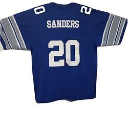 Detroit Lions Barry Sanders Authentic Mitchell And Ness Nfl Throwback Jersey Sz 54