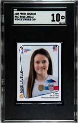 2019 Panini World Cup Stickers Rookie 413 Rose Lavelle Uswnt Rc Gem Mint Sgc 10