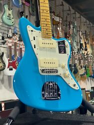 Fender American Pro Ii Jazzmaster Miami Blue Maple | Ohsc + Free Ship 244