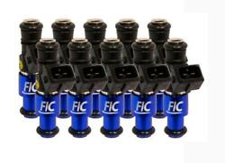 Fuel Injector Clinic 1200cc Fuel Injector Set High-z For Fic Bmw E60 V10