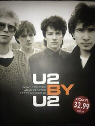U2 By U2 Signed By All Band Members Autograph Book 4 Bono Larry Adam And The Edge