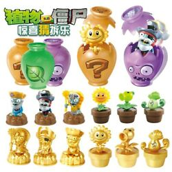 Plants Vs. Zombies Pvc Figure Toy Figurines Childrenand039s Growth Figure Action Map