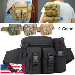 Outdoor Utility-tactical Waist Fanny Pack Pouch Military Camping Hiking Belt Bag