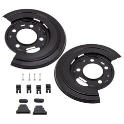 Rear Brake Dust Shield Backing Plates Pair For Ford F250 F350 Excursion 924-212