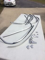 1955 1956 1957 Chevy Sedan 2and4 Dr. Front And Rear Window Originals Show Quality