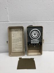 Tork Model 1103 Time Control 24 Hour Dial Time Switch 120v 60hz