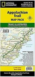 Appalachian Trail Map Pack Bundle National Geographic Topo Maps By Priority Mail
