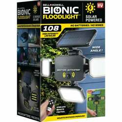 Bell+howell Bionic Motion Activated Solar Floodlight 7897 - 1 Each