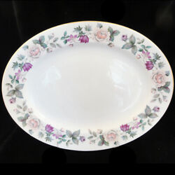 Royal Grafton Fragrance Oval Platter 15.75 New Never Used Made In England