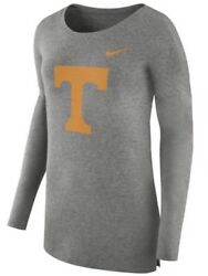Nike Women's Tennessee Volunteers Football Cozy Top Jersey Shirt Small S Vols