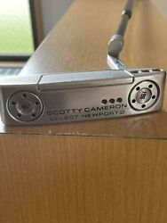 Titleist Scotty Cameron Select Newport 2 Putter Right Man 34in With Head Cover