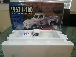 Gearbox 1953 F-100 Pepsi-cola Delivery Truck Mib 118 Skl Limited Ed C 1996