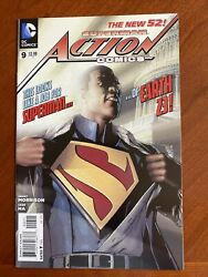 Action Comics 9 New 52 1st Cover And 2nd Full Appearance Calvin Ellis Superman