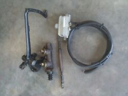 1949 50 51 Ford F-1 Brake Peddle And Dual Master Cylinder Conversion.