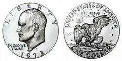 Roll Of 20 1973-s Silver Eisenhower Dollar Proof