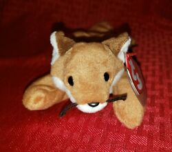 Retired Ty Beanie Baby Sly White Belly Rare Collectible 1996