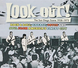 Various Artists-look Out The San Diego Scene 1958-1973 Rock And Roll Ga Cd Neuf