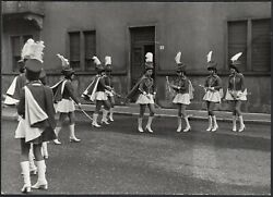 Yz4103 Legnano 1977 - Exhibition Group Of Majorette - Photography Period - Photo