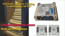 Controller For Automatic Led Illumination Of Stair Steps Smartstairway Ss-26
