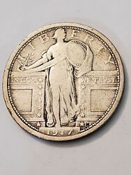1917 Type 1 Standing Liberty Quarter Reduced Price