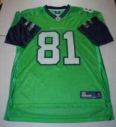 Reebok Golden Tate Seattle Seahawks Color Rush Lime Green Jersey Size Xl