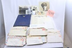 Large Grouping Of Wwii Us Army Air Force C.b.i. Pilot Documents And Letters Home