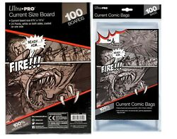 Ultra Pro Bags amp; Ultra Pro Comic Boards Current Silver Gold Magazine $30.50