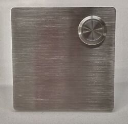 Mid Century Modern Door Bell By Design Within Reach. Brushed Stainless Steel